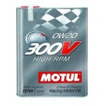 OLIO MOTUL 300V HIGH RPM 0W20