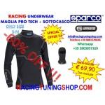OFFERTA: MAGLIA SOTTOTUTA SPARCO PRO TECH RW-7 + SOTTOCASCO